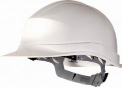 Prilba ZIRCON Aj UV rezistentný HDPE 6 bodov 440V obvod nastaviteľný pásikom biela