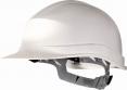 Prilba Delta Plus ZIRCON I UV rezistentný HDPE 6 bodov elektrická odolnosť 1000 V nastaviteľný pásik biela