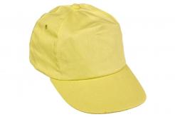 Čiapka CERVA LEO bejzbalová zošitá z 5 panelov plastový nastavovací pásik žltá