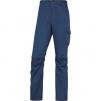 Montérkové nohavice DELTA Panostyle PANOSTRPA do pása materiál PES/BA/elastan 240g modro/červené