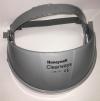Držiak štítu CLEARWAYS na hlavu s chráničom čela elastická nastavovacie páska bez priezoru sivý