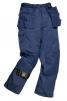 Montérkové nohavice PW CHICAGO do pása odolné 13 vreciek tmavomodré