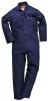 Kombinéza Safe Welder Flame Resistant Bavlna 330g zváračská trieda 1 elastická chrbát tmavo modrá