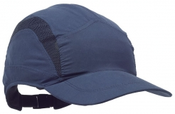 Náhradný poťah na čiapku so škrupinou PROTECTOR FB3 CLASIC štandardná dĺžka šiltu tmavomodrá