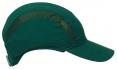 Čiapka so škrupinou PROTECTOR FB3 štandardná dĺžka šiltu zelená