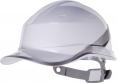 Prilba Delta Plus BaseBall Diamond V reflexné pruhy na škrupine nastavenie posuvným pásikom biela