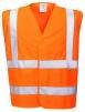 Vesta PW FLAMESAFE Hi Vis výstražná reflexné pruhy nehorľavá Index 1 oranžová