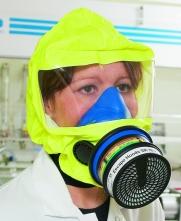 Úniková maska Sundström SR76 ABEK1-Hg-P3 mobilné puzdro na opasokSR76-3M-H15-0612Ochranná dýchací úniková kukla Sundström SR 76, chrání hlavu, obličej, oči a dýchací ústrojí proti působení plynů a par chemikálií typů organických, anorganických, kyselých