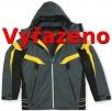 Bunda ROSSLAND PES/PVC predĺžená kapucňa sivá veľkosť XL
