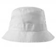 Klobúčik MALFINI Classic bavlna brúsený keper obšité vetracie otvory začistené švy zosilnená obruba biely