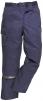 Nohavice MULTIPOCKET polyester/bavlna do pása 3 šitie tmavomodré veľkosť M