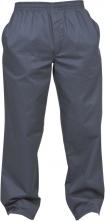 Nohavice TRACK priedušné mikrovlákno/PVC tmavomodré veľkosť XL