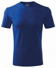 Tričko Classic 160 bavlna okrúhly priekrčník trup bez švov kráľovská modrá