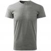 Tričko Mach SPRING krátky rukáv čierno/sivé veľkosť XXL