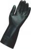 Rukavice MAPA TECHNI-MIX 415 neoprén/latex protišmykový reliéf v dlani chemicky odolné dĺžka 320 mm čierne
