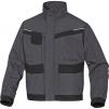 Montérková blúza DELTA Mach Corporate 2 NEW PES/BA stojačik reflexné obšívanie tmavo šedá/čierna