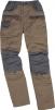 Nohavice MACH CORPORATE do pása béžovo/sivé veľkosť XL