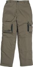 Montérkové nohavice DELTA PLUS  MACH 2 LITE PES/BA ľahké do pása kaki