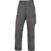 Montérkové nohavice MACH 2 do pása sivé veľkosť XL