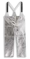 Ochranné žiaruvzdorné pokovované nohavice CK11/Z zlievačské nastaviteľné traky