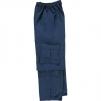 Nohavice TYPHOON do pása nepremokavé tmavomodré veľkosť XXL