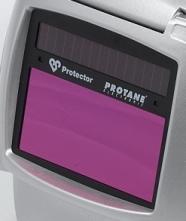 Zváracia ochranná kazeta PROTECTOR optoelektronická solárne napájanie 4 / 9-13 pre zváračskú kuklu