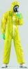 Kombinéza HONEYWELL SPACEL 3000 EBJ typ 5 + 6 elastický okraj kapucne a zápästia a členkov žltá