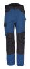 Nohavice PW WX3 do pásu PES/BA 280g strečový materiál trojité šitie prídavné vrecká modro/čierne