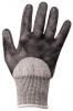 Rukavice PW CUTSAFE proti prerezaniu materiál HPPE/sklené vlákna/nitrilová pena čierno/sivé