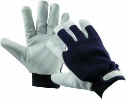 Rukavice CERVA PELICAN BLUE WINTER kombinované kozinka/textil zateplené
