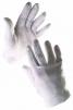 Rukavice CERVA IBIS nylonové šité úplet fourchette biele