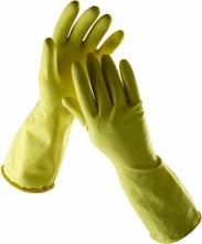 Rukavice NINA latexové tenké bez podšívky žlté