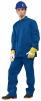 Montérkový komplet JARDA blúza a nohavice do pása strednomodrý veľkosť 54