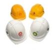 Potlač logom na prilby ROCKMAN - RCM a RGR 1 farba / 1 umiestnenie minimum 50 ks