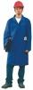 Pracovný plášť CXS VENCA trojštvrťová dĺžka s vreckami stredne modrý