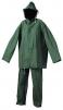 Oblek Cerva HYDRA PVC blúza s kapucňou na zips a nohavice do pása zelený