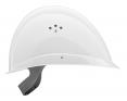 Prilba VOSS PROFILER kompaktný tvar skrátený štít bočná ventilácia biela