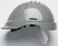 Ochranná priemyselná prilba PROTECTOR STYLE 600 ABS sivá