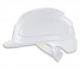 Prilba Uvex Pheos E bez ventilácie zosilnený vrchlík elektrikárska 1000 V teplu odolná biela