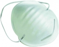 Rúško CERVA MANLY 1085 proti hrubému prachu kovová spona na nose upínacia gumička biele