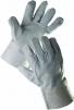 Rukavice CERVA SNIPE celokožené 7 cm manžeta sivé