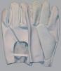 Ochranné pracovné rukavice celokožené jemná teľacina pyrotechnické sivé veľkosť 8