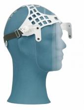 Ochranný tvárový štít OKULA ŠP 28 vrátane jednoduchého hlavového držiaka plexisklo dĺžka 200 mm číry