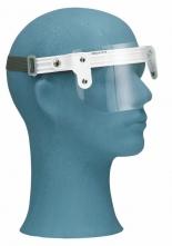 Ochranný očný štít OKULA ŠP 6 vrátane jednoduchej obvodovej pásky plexisklo dĺžka 90 mm číry