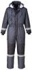 Kombinéza PW FROST Oxford Weave zateplená nepremokavá reflexné pruhy tmavo modrá