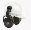 Mušľové chrániče Hellberg SECURE 2C na prilbu SNR 29 výškovo nastaviteľné čierno/žlté