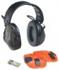 Mušľové chrániče sluchu 3M PELTOR SPORT TAC MT16H210F-478-GN elektronické s hlavovým temenným oblúkom SNR 26 zelené