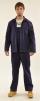 Montérkový komplet STANDARD blúza a nohavice s náprsenkou tmavomodrý veľkosť 54