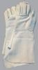 Rukavice celokožené HINA CZ hovädzia štiepenka dlhá manžeta sivé