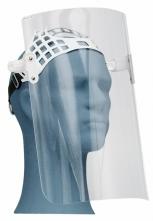 Ochranný tvárový štít OKULA ŠP 29 vrátane jednoduchého hlavového držiaka plexisklo dĺžka 300 mm číry
